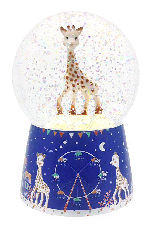 Boule à neige musicale Trousselier Sophie La Girafe©