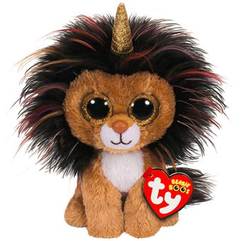 TY BEANIE BOO'S SMALL - RAMSEY LE LION L