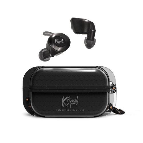 Ecouteurs sans fil Klipsch T5II True Wireless Sport Noir
