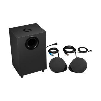 Système de haut-parleurs avec caisson de basses Logitech G560 Lightsync pour PC