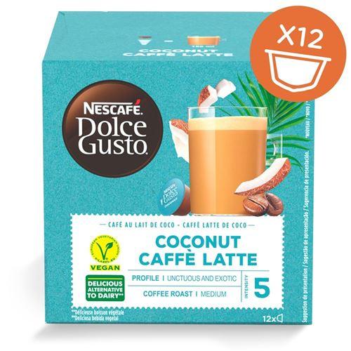 Boîte de 12 capsules Nescafe Dolce Gusto Café Latte Coconut