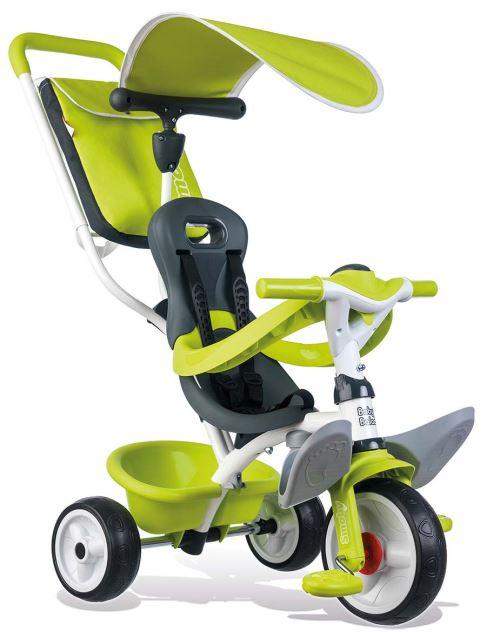 Tricycle Enfant Evolutif Baby Balade Smoby Vert - Tricycle. Achat et vente de jouets, jeux de société, produits de puériculture. Découvrez les Univers Playmobil, Légo, FisherPrice, Vtech ainsi que les grandes marques de puériculture : Chicco, Bébé Confort