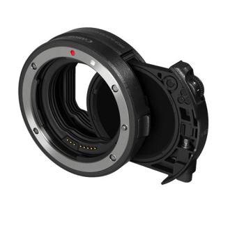 Bague d'adaptation Canon avec filtre insérable variable neutre (ND)