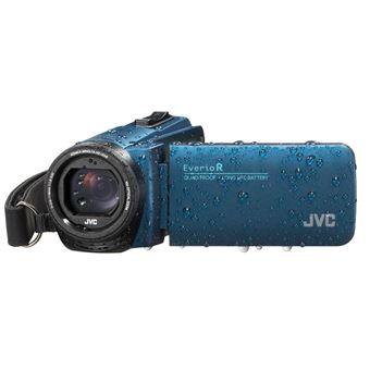 JVC EverioR Quad-Proof GZ-R495AEU Camcorder Blauw