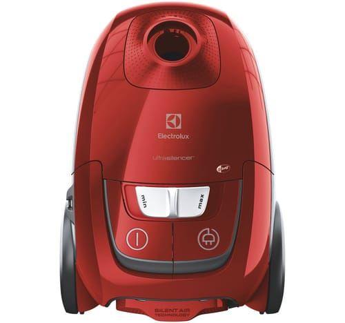 Aspirateur avec sac UltraSilencer Electrolux EUSC66-CR 650 W Rouge