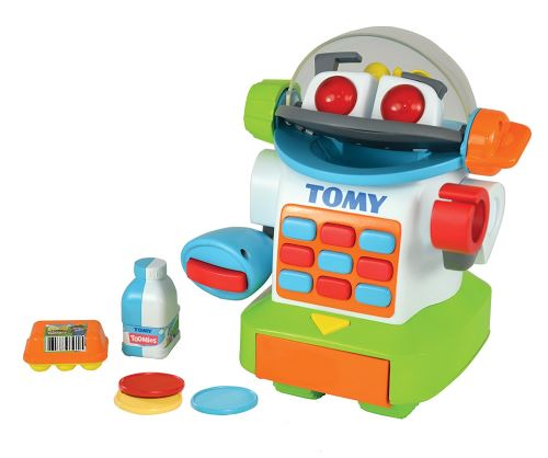 Robot Tomy Toomies Shopbot mon petit caissier