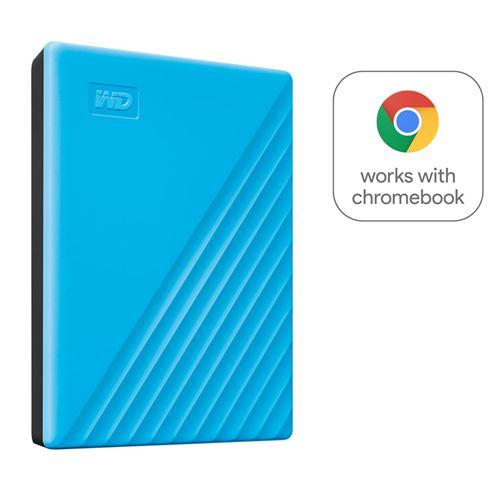 Disque Dur Externe Western Digital My Passport 2 To Bleu