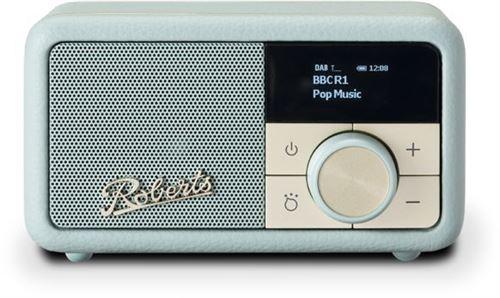 Radio portable sans fil Bluetooth Roberts Revival Petite Bleu canard