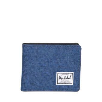 Portefeuille Herschel Roy Coin RFID Bleu