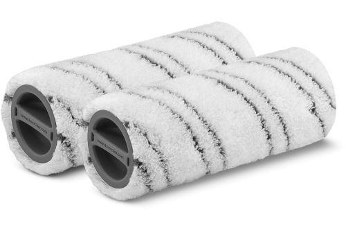 Set de 2 rouleaux de rechange pour nettoyeur de sols Kärcher FC5 Premium Gris
