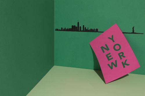 Accessoire de décoration The Line New York Noir