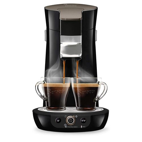 Machine à café à dosettes Philips Senseo Viva Café HD6564/61 1450 W Noir
