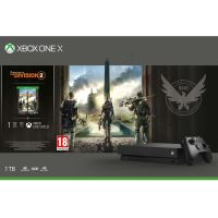 Pack Microsoft Console Xbox One X 1 To + Tom Clancy's the Division 2 + Xbox Live Gold 1 mois + Xbox Game Pass 1 mois