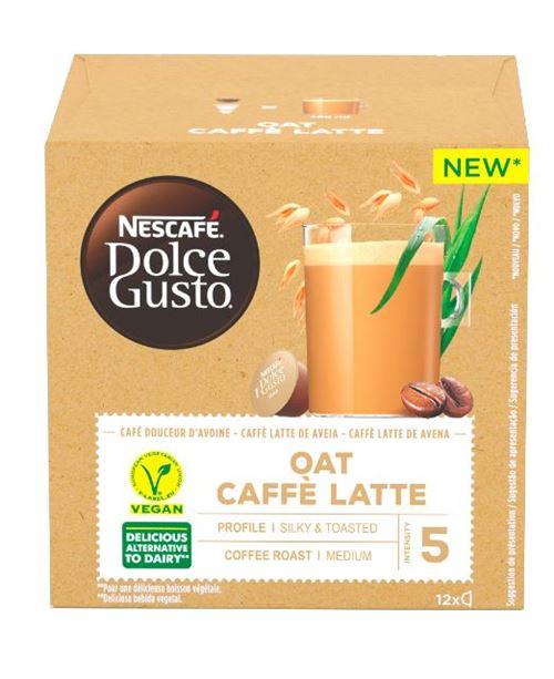 Boîte de 12 capsules Nescafe Dolce Gusto Café Latte Avoine