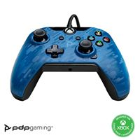 Manette Xbox One filaire PDP Bleue camouflage