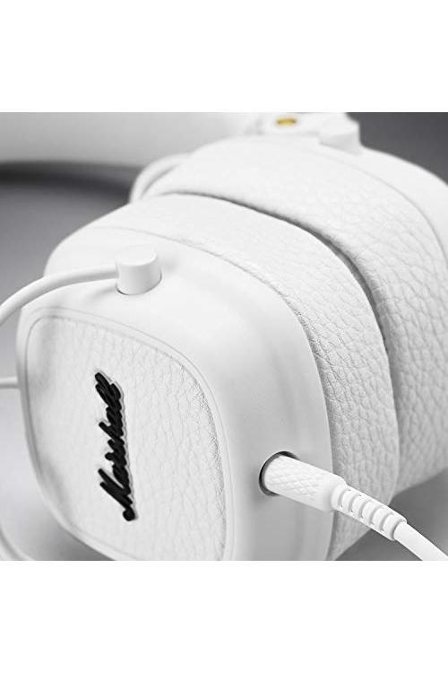 Casque Marshall Major III Blanc