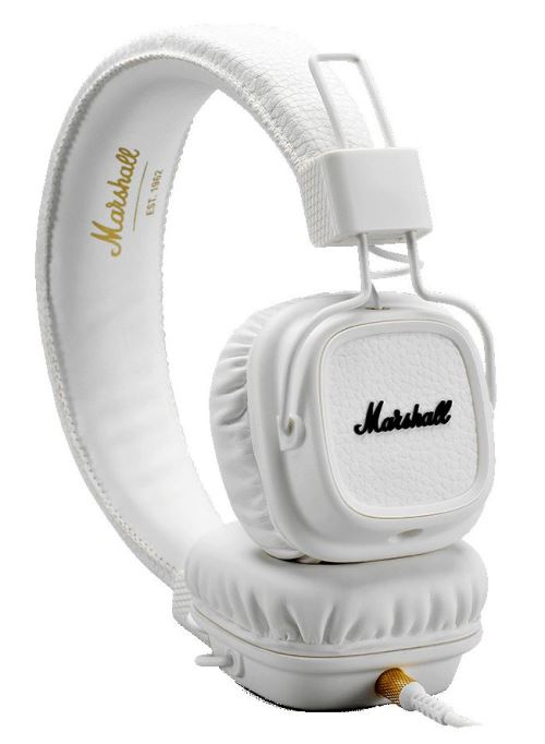 Casque Marshall Major III Blanc