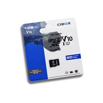 Cibox Micro SDXC V10 128GB Geheugenkaart