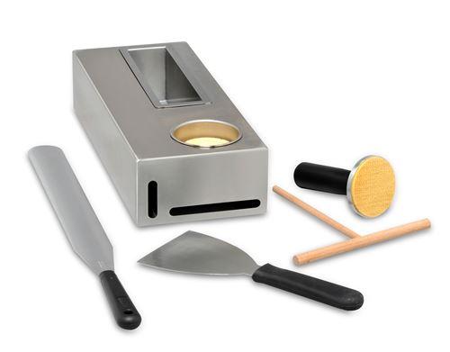 Kit pour crêpière Roller Grill CK 3 Argent
