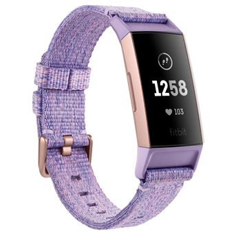 Fitbit Charge HR 3 Special Edition Lavender Woven