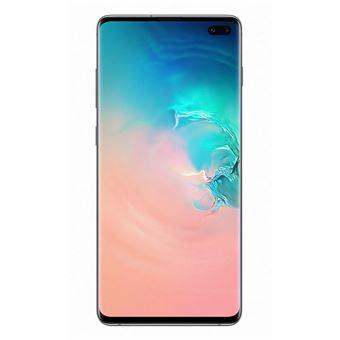 Smartphone Samsung Galaxy S10+ 128Go Blanc Prisme + Double Sim