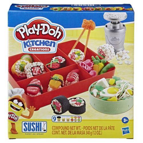 Pâte à modeler Play-Doh Kitchen Le Menu Sushis