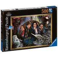 Puzzle 500 pièces Ravensburger Wizarding World Les Animaux fantastiques : Les Crimes de Grindelwald Harry Potter