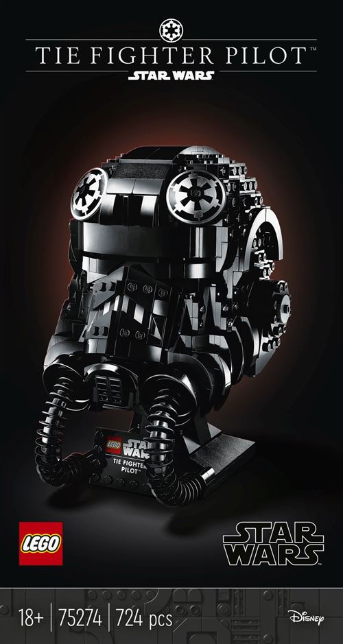 LEGO® Star Wars™ 75274 Le casque de pilote de TIE-Fighter™