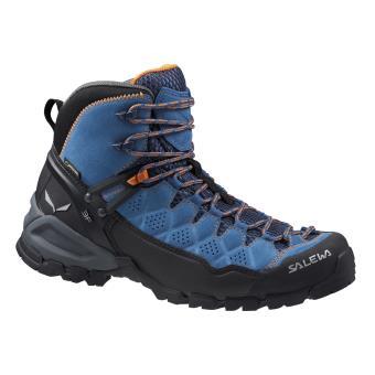 Chaussures et Femme Salewa Mid Alp de Bleues Noires Taille 41 GTX Trainer randonnée xdCBeo