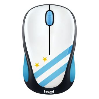 souris sans fil logitech m238 fan collection argentine souris achat prix fnac. Black Bedroom Furniture Sets. Home Design Ideas