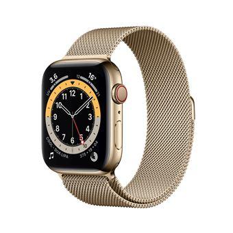 Photo de apple-watch-series-6-44mm-boitier-acier-or
