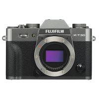 Hybride Fujifilm X-T30 Boîtier nu Argent charcoal