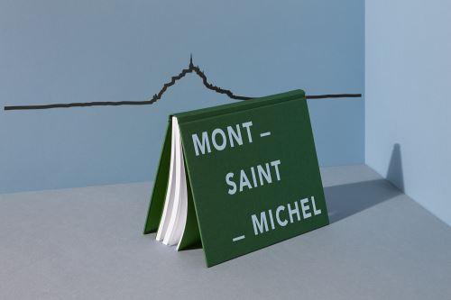 Accessoire de décoration The Line Mont-Saint-Michel Noir