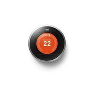 Thermostat connecté Nest Learning 3ème Génération Gris