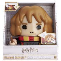 Réveil lumineux Clic Time Harry Potter Hermione 14 cm