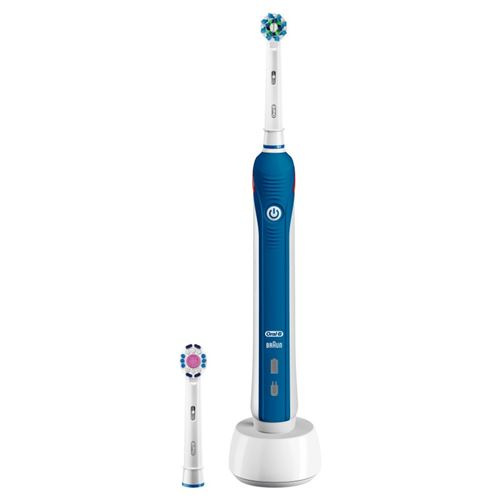 Brosse à dents électrique Oral B Pro 2 2700 Cross Action Bleu