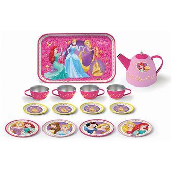 Dinette Métal Smoby Disney Princesses + 14 Accessoires