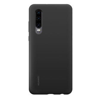 Coque rigide en silicone Huawei Noir pour P30