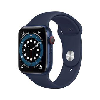 Photo de apple-watch-series-6-44mm-boitier-aluminium-bleu