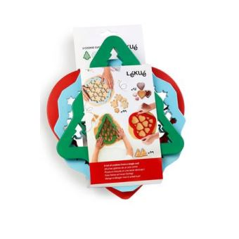 Lekue Kit 3 Cookie Cutters