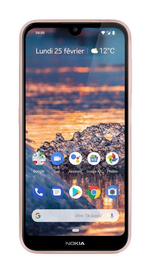 Smartphone Nokia 4.2 Double SIM 32 Go Rose