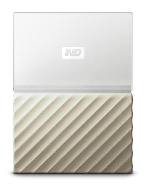 Disque dur externe WD My Passport Ultra 2 To Blanc et Or