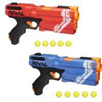 Nerf Rival Kronos XVIII-500 et Billes en Mousse Nerf Rival Officielles Rouge ou Bleu Modèle aléatoire