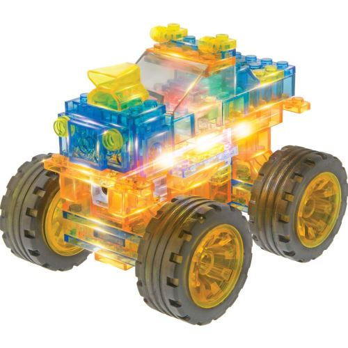 Jeu de construction Laser Pegs 6 in 1 Super Monster Truck