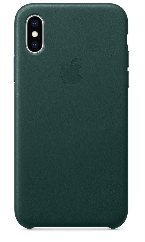 coque iphone xs apple vert