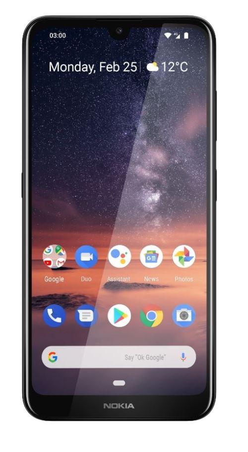 Smartphone Nokia 3.2 Double SIM 16 Go Noir
