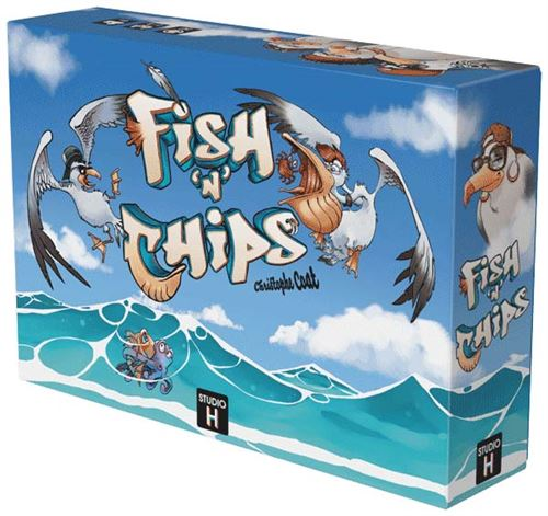 Jeu d'adresse Gigamic Fish N Chips