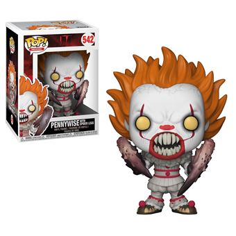 IT-BOBBLE HEAD POP N°542-PENNYWISE WITH SPIDER LEGS