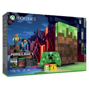 MICROSOFT XBOX ONE S + MINECRAFT LIMITED EDITION 1TB