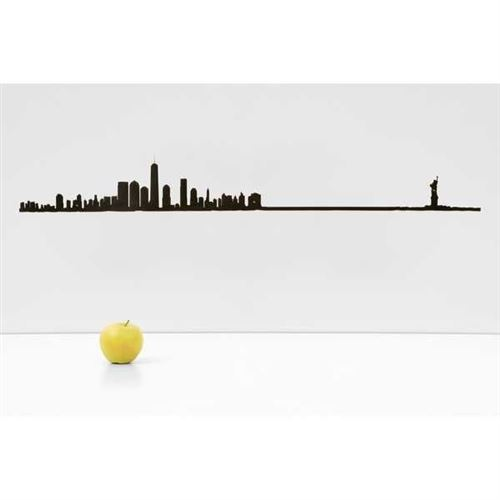 Accessoire de décoration The Line New York Grand Format Noir